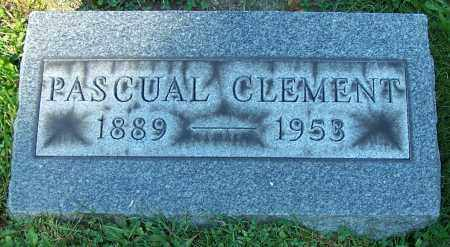CLEMENT, PASCUAL - Stark County, Ohio | PASCUAL CLEMENT - Ohio Gravestone Photos