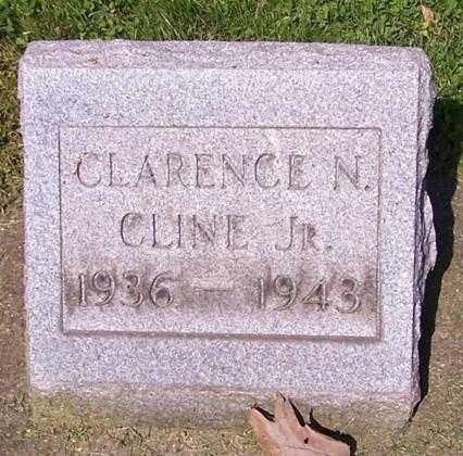 CLINE, CLARENCE N. (JR) - Stark County, Ohio | CLARENCE N. (JR) CLINE - Ohio Gravestone Photos