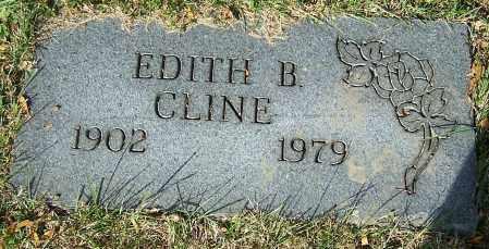 CLINE, EDITH B. - Stark County, Ohio | EDITH B. CLINE - Ohio Gravestone Photos