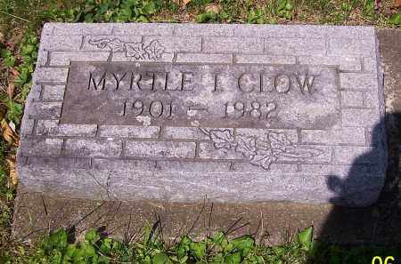 CLOW, MYRTLE I. - Stark County, Ohio | MYRTLE I. CLOW - Ohio Gravestone Photos