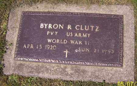 CLUTZ, BYRON R. - Stark County, Ohio | BYRON R. CLUTZ - Ohio Gravestone Photos