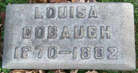 COBAUGH, LOUISA - Stark County, Ohio | LOUISA COBAUGH - Ohio Gravestone Photos