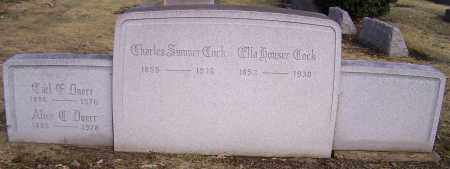 COCK, CHARLES SUMMER - Stark County, Ohio | CHARLES SUMMER COCK - Ohio Gravestone Photos