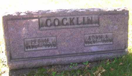 COCKLIN, LETTIE - Stark County, Ohio | LETTIE COCKLIN - Ohio Gravestone Photos