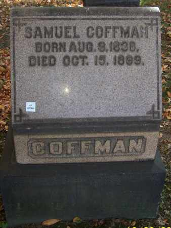COFFMAN, SAMUEL - Stark County, Ohio | SAMUEL COFFMAN - Ohio Gravestone Photos