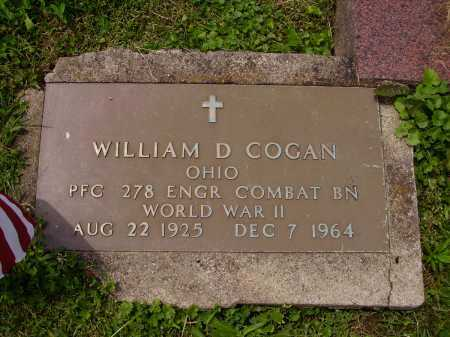 COGAN, WILLIAM D. - Stark County, Ohio | WILLIAM D. COGAN - Ohio Gravestone Photos