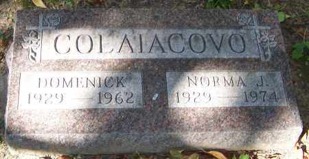 COLAIACOVO, DOMENICK - Stark County, Ohio | DOMENICK COLAIACOVO - Ohio Gravestone Photos