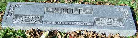 COLE, DONA C. - Stark County, Ohio | DONA C. COLE - Ohio Gravestone Photos