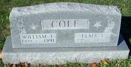 COLE, ELMA T. - Stark County, Ohio | ELMA T. COLE - Ohio Gravestone Photos