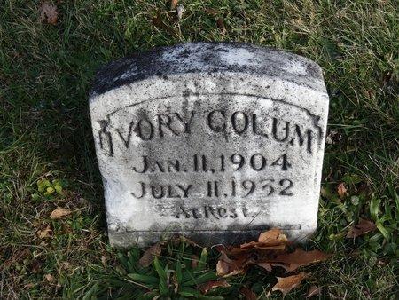 COLUM, IVORY - Stark County, Ohio | IVORY COLUM - Ohio Gravestone Photos