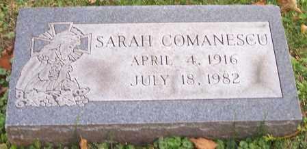 COMANESCU, SARAH - Stark County, Ohio | SARAH COMANESCU - Ohio Gravestone Photos