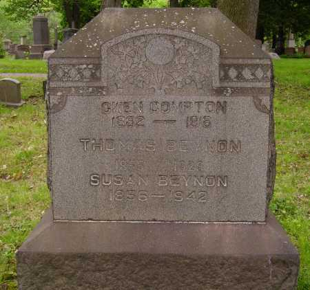 THOMAS BEYNON, SUSAN - Stark County, Ohio | SUSAN THOMAS BEYNON - Ohio Gravestone Photos