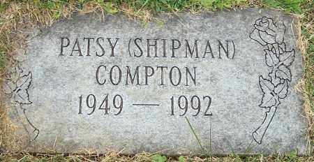 SHIPMAN COMPTON, PATSY - Stark County, Ohio | PATSY SHIPMAN COMPTON - Ohio Gravestone Photos