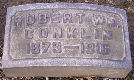 CONKLIN, ROBERT WM. - Stark County, Ohio | ROBERT WM. CONKLIN - Ohio Gravestone Photos