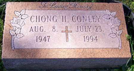 CONLEY, CHONG H. - Stark County, Ohio | CHONG H. CONLEY - Ohio Gravestone Photos