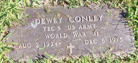 CONLEY, DEWEY - Stark County, Ohio | DEWEY CONLEY - Ohio Gravestone Photos