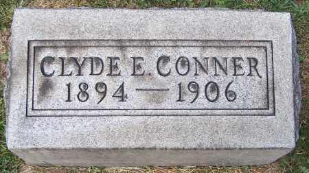 CONNER, CLYDE E. - Stark County, Ohio | CLYDE E. CONNER - Ohio Gravestone Photos
