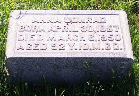 CONRAD, ANNA - Stark County, Ohio | ANNA CONRAD - Ohio Gravestone Photos