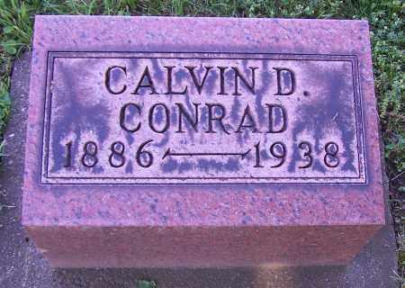 CONRAD, CALVIN D. - Stark County, Ohio | CALVIN D. CONRAD - Ohio Gravestone Photos