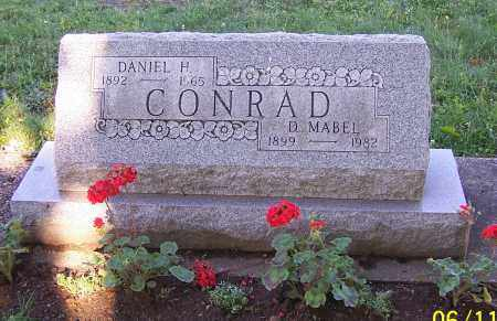 CONRAD, D.MABEL - Stark County, Ohio | D.MABEL CONRAD - Ohio Gravestone Photos