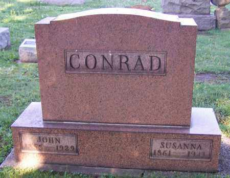 CONRAD, SUSANNA - Stark County, Ohio | SUSANNA CONRAD - Ohio Gravestone Photos