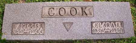COOK, ALEX S. - Stark County, Ohio | ALEX S. COOK - Ohio Gravestone Photos