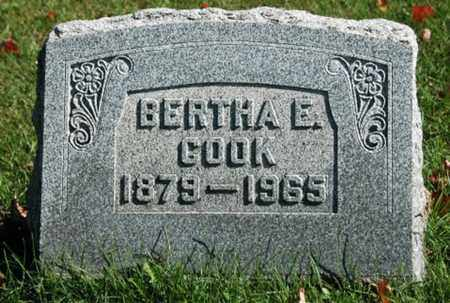 MANN COOK, BERTHA ESTELLA - Stark County, Ohio | BERTHA ESTELLA MANN COOK - Ohio Gravestone Photos