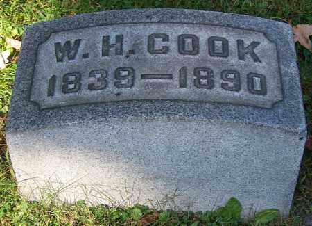 COOK, W.H. - Stark County, Ohio | W.H. COOK - Ohio Gravestone Photos