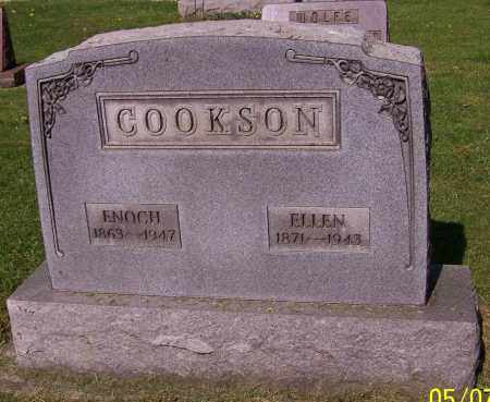 COOKSON, ELLEN - Stark County, Ohio | ELLEN COOKSON - Ohio Gravestone Photos