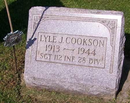 COOKSON, LYLE J. - Stark County, Ohio | LYLE J. COOKSON - Ohio Gravestone Photos