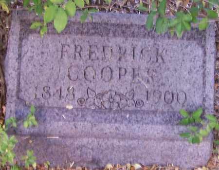 COOPER, FREDRICK - Stark County, Ohio | FREDRICK COOPER - Ohio Gravestone Photos