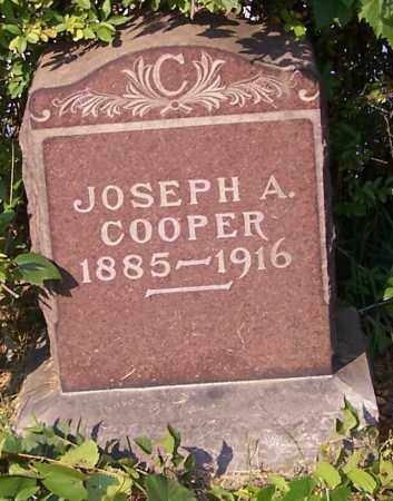 COOPER, JOSEPH A. - Stark County, Ohio | JOSEPH A. COOPER - Ohio Gravestone Photos