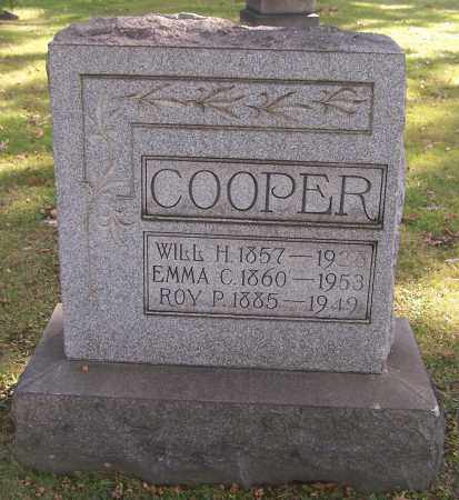 COOPER, WILL H. - Stark County, Ohio | WILL H. COOPER - Ohio Gravestone Photos