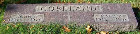 COPELAND, MARY P. - Stark County, Ohio | MARY P. COPELAND - Ohio Gravestone Photos