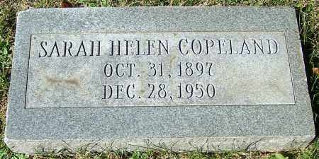 COPELAND, SARAH HELEN - Stark County, Ohio | SARAH HELEN COPELAND - Ohio Gravestone Photos