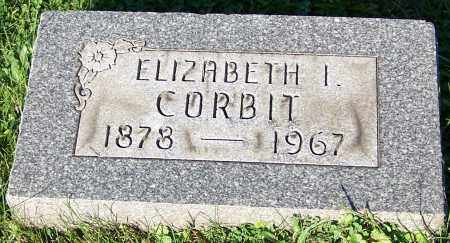 CORBIT, ELIZABETH I. - Stark County, Ohio | ELIZABETH I. CORBIT - Ohio Gravestone Photos