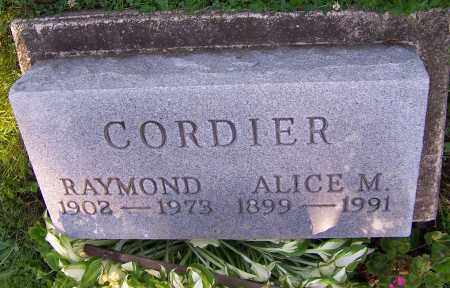 CORDIER, ALICE M. - Stark County, Ohio | ALICE M. CORDIER - Ohio Gravestone Photos