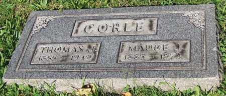 CORLE, THOMAS J. - Stark County, Ohio | THOMAS J. CORLE - Ohio Gravestone Photos