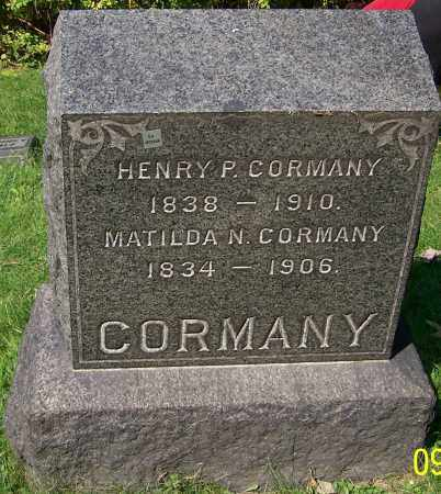 CORMANY, MATILDA N. - Stark County, Ohio | MATILDA N. CORMANY - Ohio Gravestone Photos