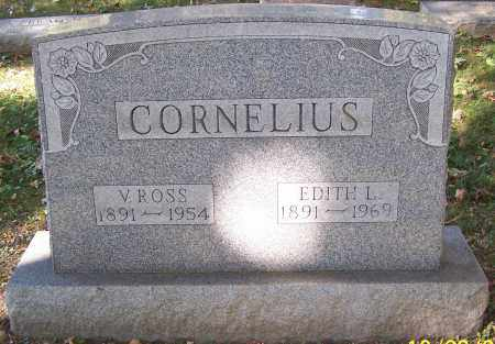 CORNELIUS, V.ROSS - Stark County, Ohio | V.ROSS CORNELIUS - Ohio Gravestone Photos