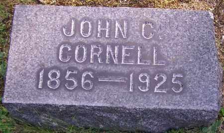 CORNELL, JOHN C. - Stark County, Ohio | JOHN C. CORNELL - Ohio Gravestone Photos
