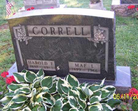 CORRELL, HAROLD F. - Stark County, Ohio | HAROLD F. CORRELL - Ohio Gravestone Photos