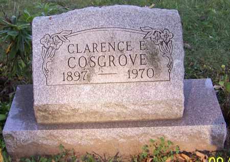COSGROVE, CLARENCE E. - Stark County, Ohio | CLARENCE E. COSGROVE - Ohio Gravestone Photos