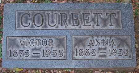 COURBETT, VICTOR - Stark County, Ohio | VICTOR COURBETT - Ohio Gravestone Photos