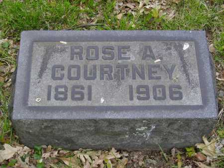 COURTNEY, ROSE A. - Stark County, Ohio | ROSE A. COURTNEY - Ohio Gravestone Photos