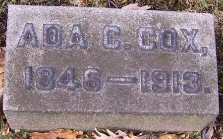 COX, ADA C. - Stark County, Ohio | ADA C. COX - Ohio Gravestone Photos