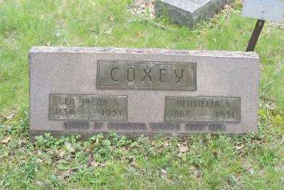 COXEY, HENRIETTA J. - Stark County, Ohio | HENRIETTA J. COXEY - Ohio Gravestone Photos
