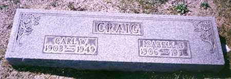 CRAIG, CARL W. - Stark County, Ohio | CARL W. CRAIG - Ohio Gravestone Photos