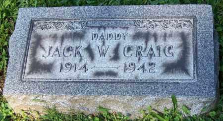 CRAIG, JACK W. - Stark County, Ohio | JACK W. CRAIG - Ohio Gravestone Photos