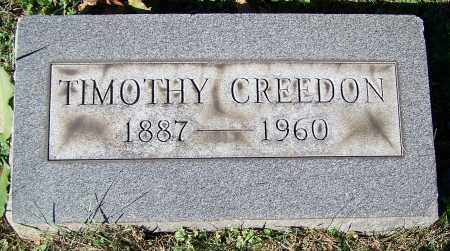 CREEDON, TIMOTHY - Stark County, Ohio | TIMOTHY CREEDON - Ohio Gravestone Photos